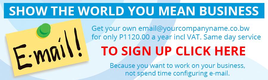 Email hosting Promotion